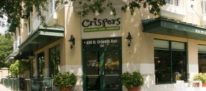 Where to eat healthy food in Orlando: Crispers restaurant